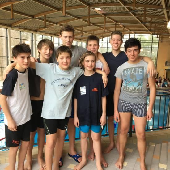 Jugend trainiert für Olympia – Landesentscheid Schwimmen