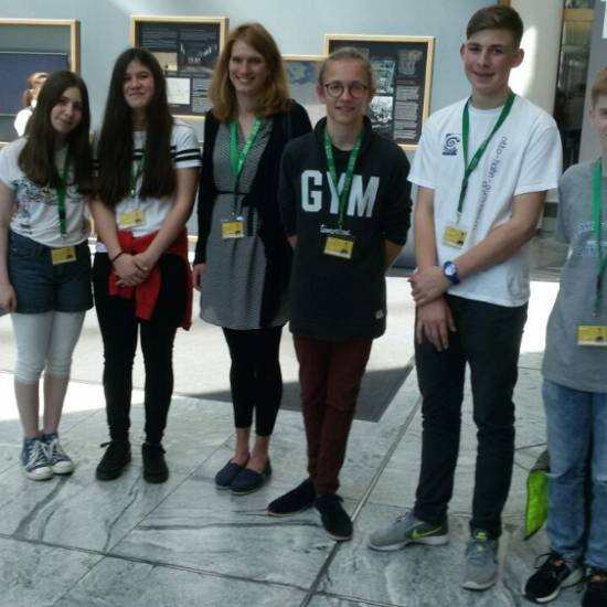 2. Platz beim Landeswettbewerb Schüler experimentieren Chemie