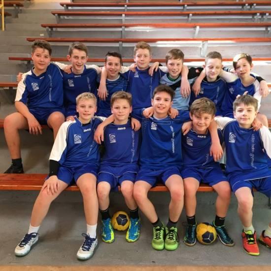 """Handballer (WK IV) erreichen 2. Platz im Regionalentscheid bei """"Jugend trainiert für Olympia"""""""
