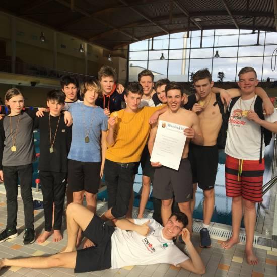 OHG Landesschulmeister im Schwimmen