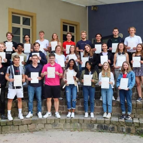 """29 Schülerinnen und Schüler der MSS 12 meistern """"Cambridge English: Advanced""""-Prüfung"""